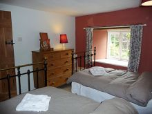 Manor Cottage Twin bedded room